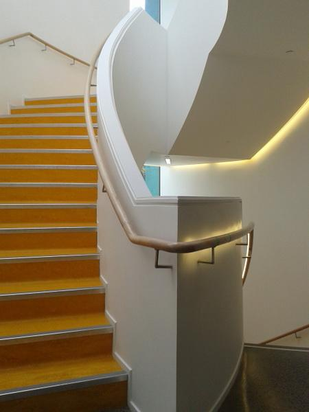 Curved  Timber Handrail  & Bends