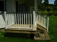 External Wooden Balustrade Fluted