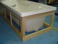 Plywood Bath Frame