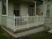 Renovation with Turned Colonial Balustrade