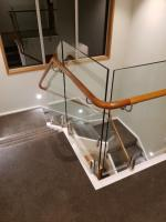 Rimu Handrail with Bends