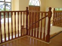 Turned Interior Wooden Balustrade