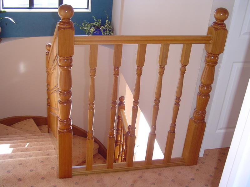 Turned Timber Balustrade