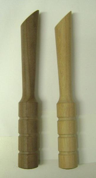 Turned Wooden Mixing Muddlers
